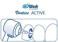 SoWash Vortice Active Orthodontic nástavce - 2ks